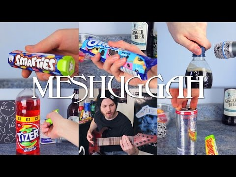 MeSugar   Meshuggah played with Sugary Foods   Pete Cottrell