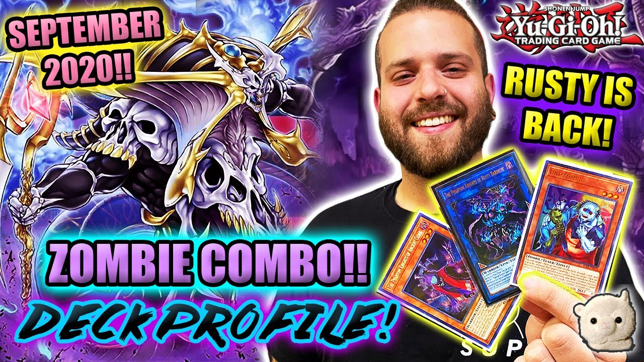 *NEW* Yu-Gi-Oh! ZOMBIE COMBO DECK PROFILE!! SEPTEMBER 2020! w/ TEST HAND+COMBO! SPICIEST BUILD YET!!