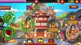 Fruit Ninja® ARCADE Mode - OVER 1000!!! - HIGH SCORE | Bet Android GamePlay FHD #1