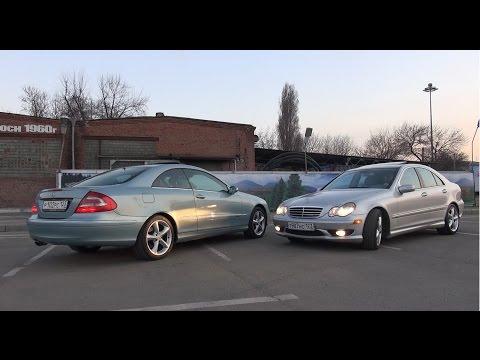 Обзор на Mercedes C230 Kompressor W203 и CLK 240 W209