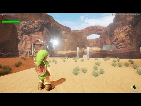 Unreal Engine 4 [4.11.2] Zelda Ocarina of Time / Gerudo Valley