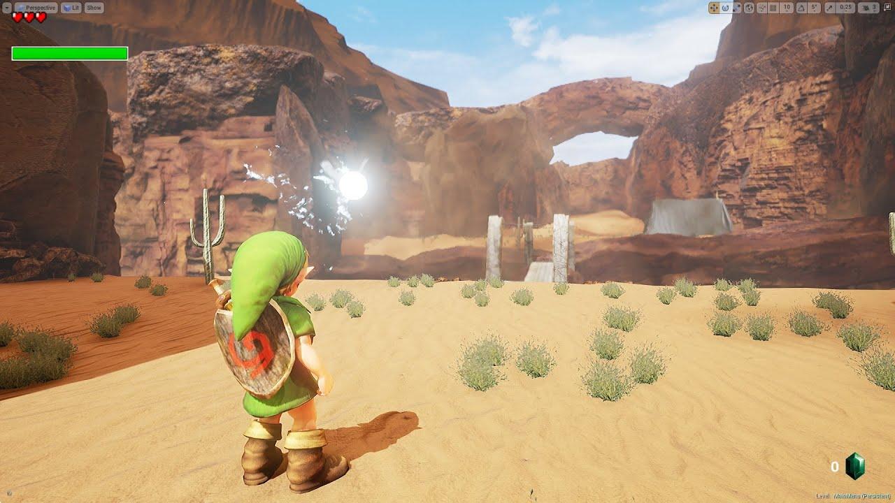 Unreal Engine 4 Remake Of 'Legend Of Zelda: Ocarina Of Time's