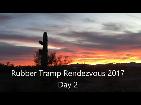 Rubber Tramp Renezvous 2017 - Day 2 Vlog