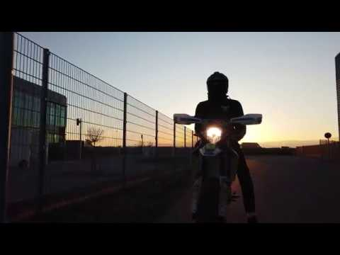 SHORT SUNSET SPRING STUNT SESSION | Husqvarna  | Dji Osmo Pocket | K | Pawnii