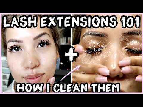 EVERYTHING YOU NEED TO KNOW ABOUT LASH EXTENSIONS + HOW I CLEAN THEM
