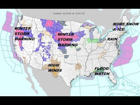 California faces intense rain, snowstorm on Thanksgiving. Expect ...