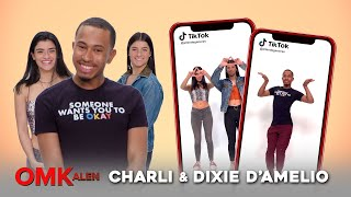 'OMKalen': Kalen Challenges Charli and Dixie D'Amelio to a TikTok Dance-Off