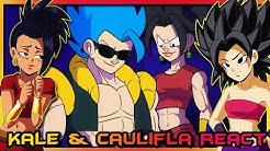Kale and Caulifla React to GOGETA vs KEFLA!