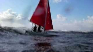Extreme surfing with catamaran