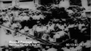 HD Stock Footage Middle East 1963