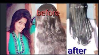 How to do deep U shape haircut video