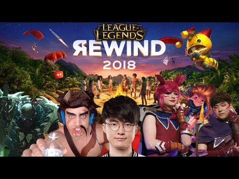 League Rewind 2018: League of Legends Stream Moments 2018 | #LeagueRewind