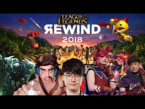 League Rewind 2018: League of Legends Stream Moments 2018 | #LeagueRewind