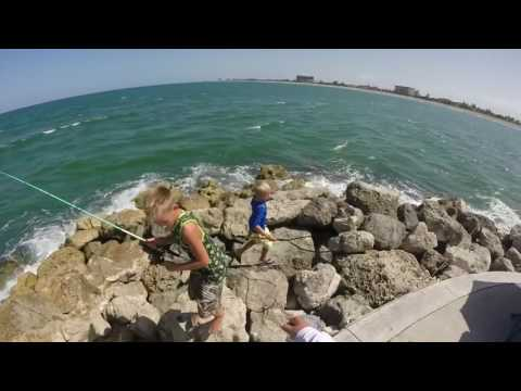 Fishing At Fort Pierce Jetty