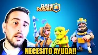 Clash royale necesito ayuda soy nuevo | thesanxe #1