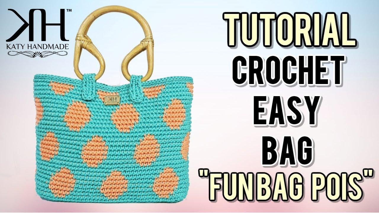 fc74486f08 Video tutorial borse uncinetto | Katy Handmade