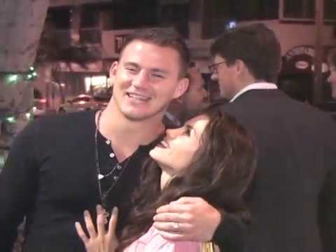 Channing Tatum And Jenna Dewan Were Such A Cute Couple Giving Love To Fans Back In 2008