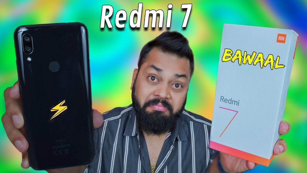 REDMI 7 UNBOXING & FIRST IMPRESSIONS IN HINDI ⚡ ⚡ ⚡ Best Phone Under 8000??