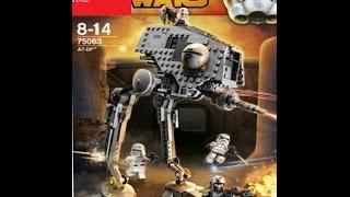 Обзор на лего звёздные войны AT-DP 75083