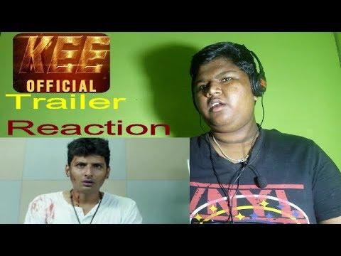 KEE Official Trailer Reaction   Jiiva, Nikki Galrani, Anaika Soti   Kalees   Vishal Chandrashekar