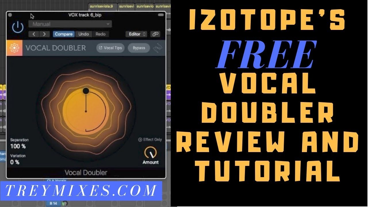 iZotope's FREE Vocal Doubler Plugin Review and Tutorial