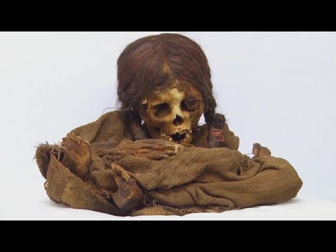 Tanner and Drew - 500-Year-Old Mummy of Little Girl Goes Home