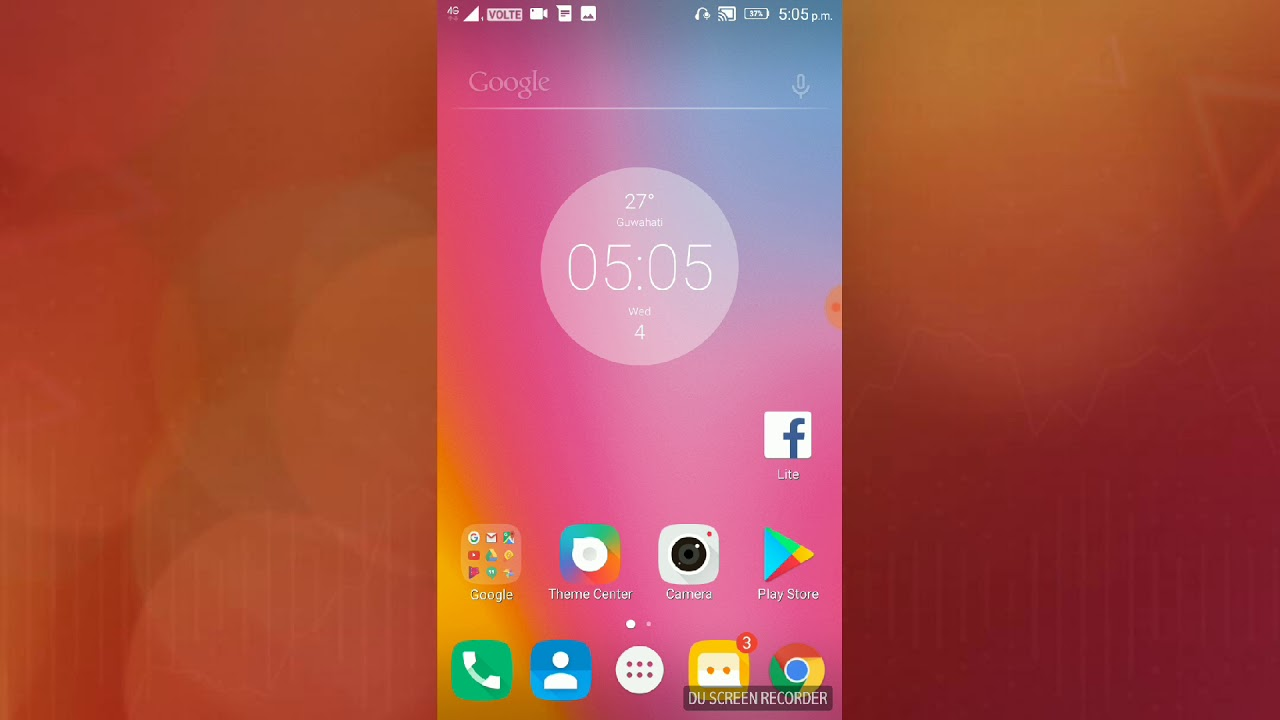 Screen overlay how to solve it in Lenovo k6 power or any Android phone