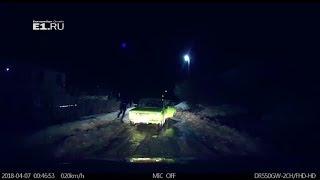 В Дегтярске гаишники устроили погоню за пьяным водителем