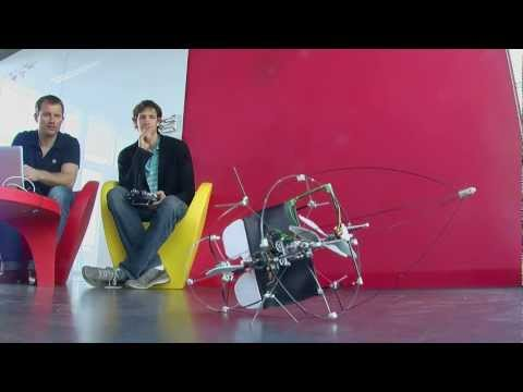 Flying Robot That Can Crash and Keep Flying