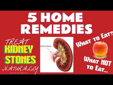 5 Natural Kidney Stone Foods 🍎 At-Home Treatments/Remedies