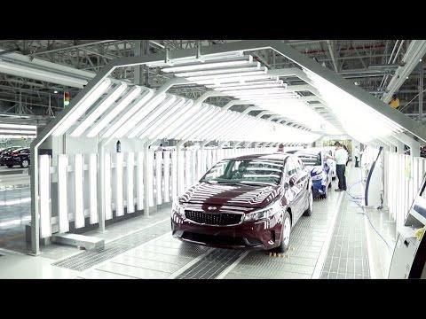 Kia Mexico Manufacturing Plant