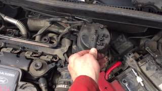 ford fiesta 1 4 diesel egr valve cleaning