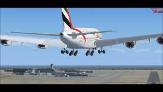 Emirates A380 @ CYYZ (Toronto Pearson International Airport)