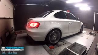Reprogrammation Moteur BMW Serie 1 E82 125i 218hp @ 265hp par BR-Performance