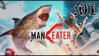 【Maneater】復讐の人喰ザメ産まれる:01