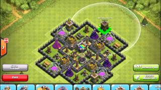 Clash of Clans: TH9 Farming Base Speed Build