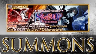 Bleach Brave Souls Step Up Summons! Round 1 Part 1