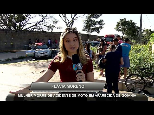 JMD (09/03/19)  Mulher morre em acidente em Aparecida de Goiânia