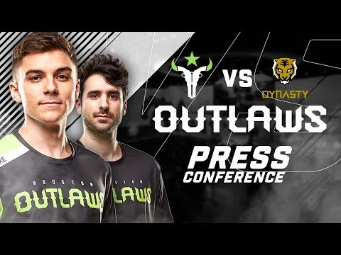 Houston Outlaws Press Conference Stage 2 Week 5 (Seoul Dynasty)