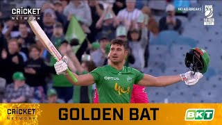 Stoinis takes commanding lead in BKT Golden Bat race