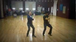 Dexter Santos choreographed this solo Blues dance routine to Hound ...