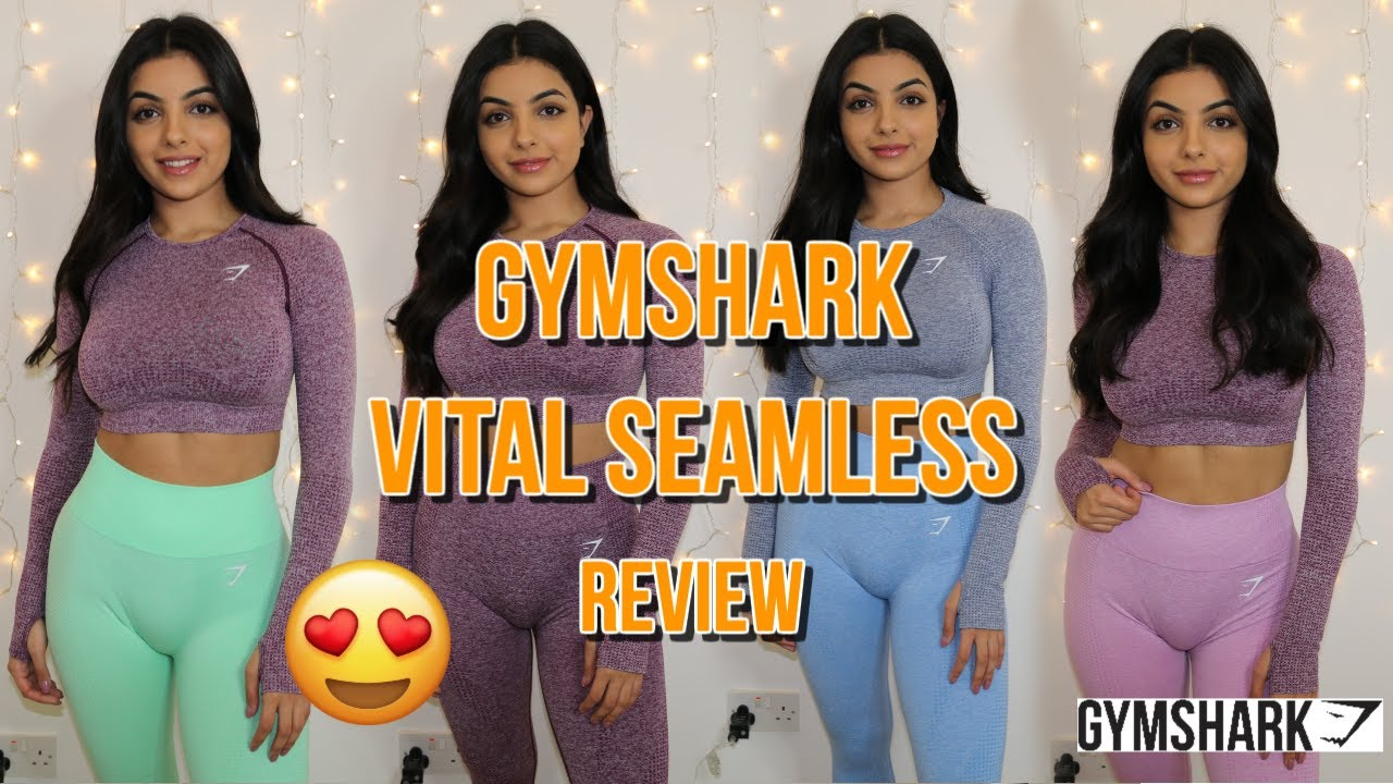 0b7ecdd1ca8a7 GYMSHARK VITAL SEAMLESS | IN DEPTH REVIEW + TRY ON + WORKOUT | UNSPONSORED