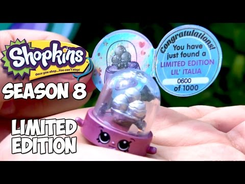 Shopkins Season 8 Limited Edition Lil Italia World Vacation Europe