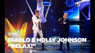 """Diablo e Holly Johnson  """"Relax"""" - Finale - The Voice of Italy 2019"""