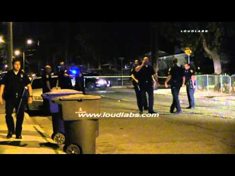 Fatal Shooting / Riverside   RAW FOOTAGE