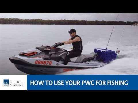 How To Use Your Jet Ski Or PWC For Fishing | Club Marine