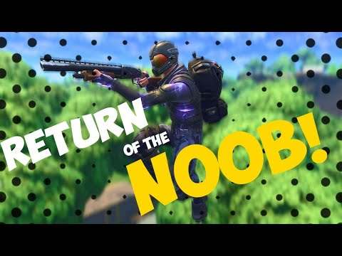 FORTNITE: RETURN of the NOOB! HOW I got a SOLO WIN! Alone and all by myself, without any help!