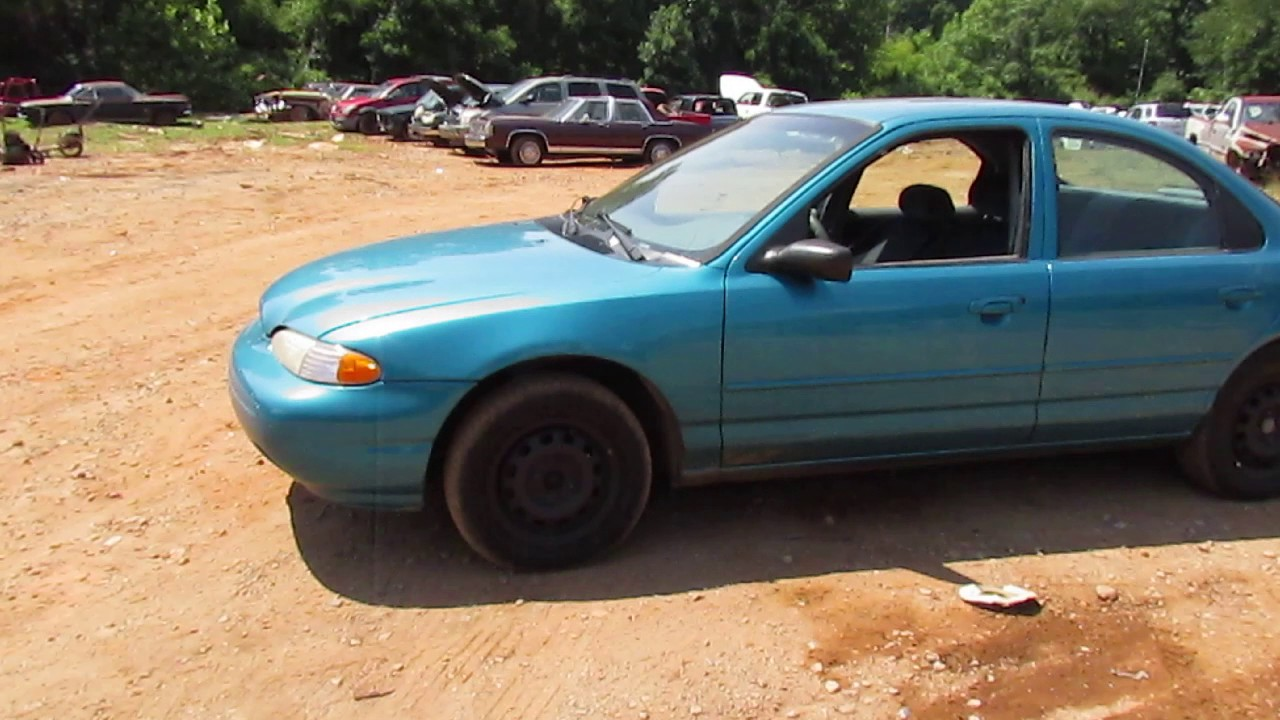 scrapped 1996 ford contour gl youtube scrapped 1996 ford contour gl
