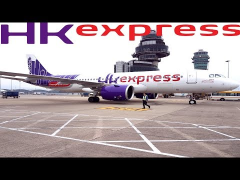 HK EXPRESS Tokyo To Hong Kong|GREAT LOW COST AIRLINE !