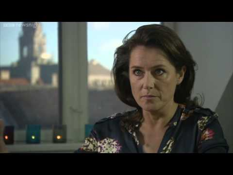 BBC NEWSNIGHT Borgen's Sidse Babett Knudsen on why the world fell in love with Danish politics